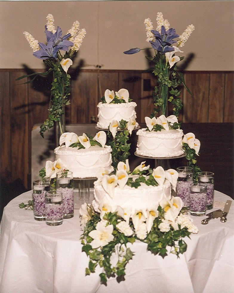 Matt & Tammy's Wedding Cake