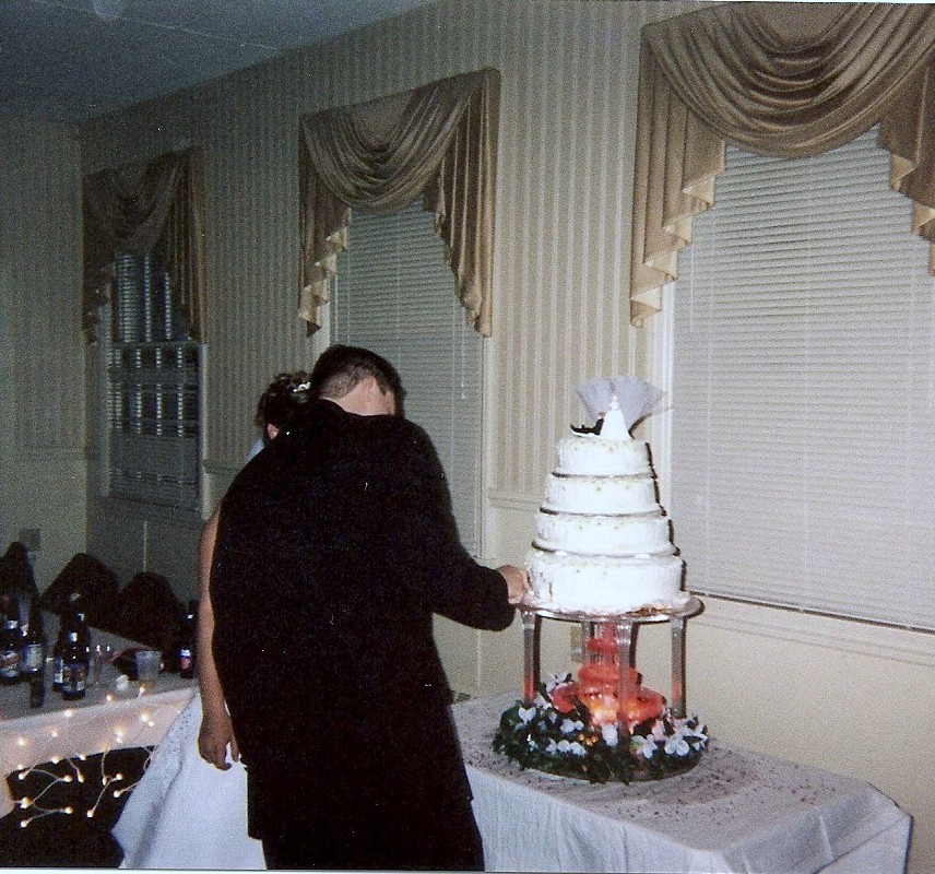 Brandi & Mike Cake